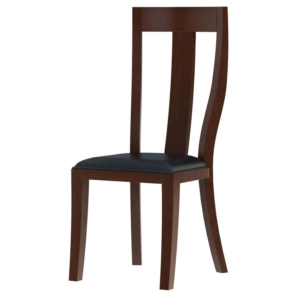 Cazenovia Solid Mahogany Upholstered Dining Chair