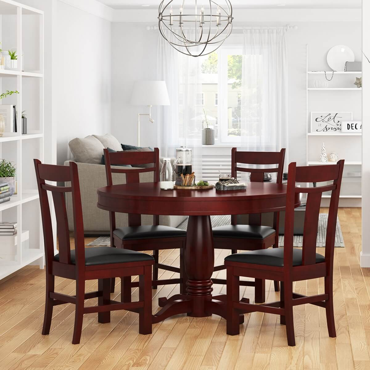 Garcia 5 Piece Dining Table And Chair Set