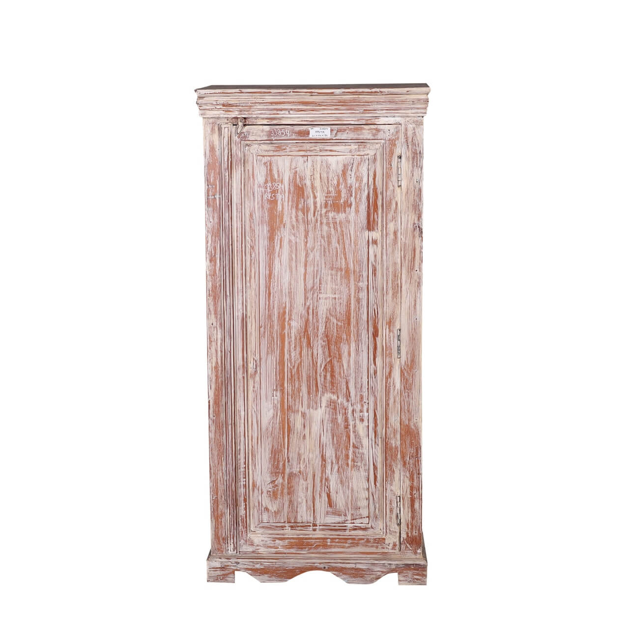 Cokeville Distressed Reclaimed Wood Single Door Storage Cabinet
