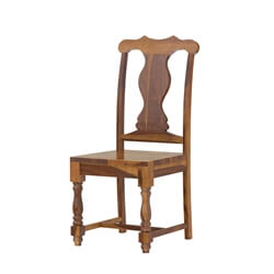 Oroville Rustic Solid Wood Dining Chair