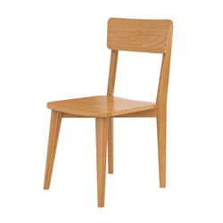 Avondale Teak Wood Modern Style Dining Chair