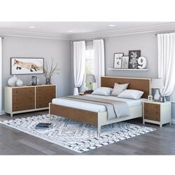 Effingham Two Tone 4 Piece Bedroom Set