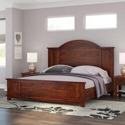 Sierra Nevada Rustic Solid Wood Platform Bed