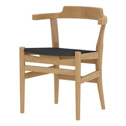 Laconia Solid Wood Handcrafted Modern Dining Chair