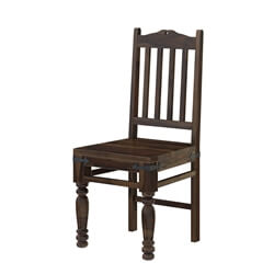 Oklahoma Farmhouse Traditional Rosewood Dining Chair