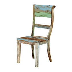 Wilmington Rustic Reclaimed Wood Dining Chair