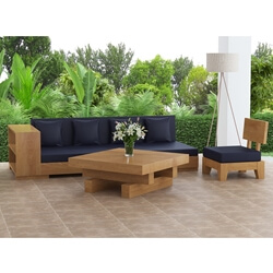 Onslow 3 Piece Outdoor Sofa Set