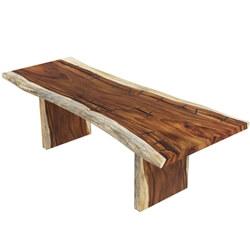 Ireton Solid Wood Live Edge Large Dining Table