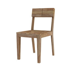 Fernie Rustic Solid Wood Dining Chair