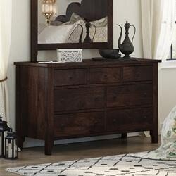 Orillia Solid Wood Handcrafted 7 Drawer Moroccan Bedroom Dresser