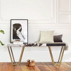 Auckland Tufted Upholstered Bench
