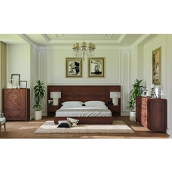 Madsen 4 Piece Solid Wood Bedroom Collection