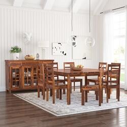 Granada Rustic Solid Wood Dining Room Set