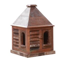 Tuxtla Reclaimed Wood Hut-shaped Accent Decor