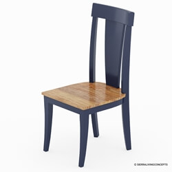 Salzburg Two Tone Solid Wood Dining Chair