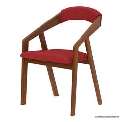 Ambrose Mid-century Modern Teak Wood Dining Chair