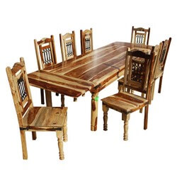 Dallas Ranch Classic Extendable Dining Table & Chair Set