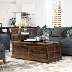 Rustic Solid Wood Coffee Tables