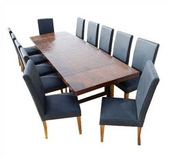 Matterhorn Extendable Dining Table and Chair Set For 12 People
