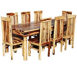 Lincoln 9 Piece Dallas Dining Room Table & Chair Set