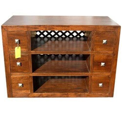 1950 Classic 6 Drawer TV Stand Entertainment Console