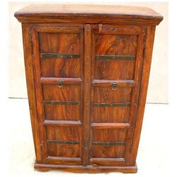 Solid Wood Storage Cabinet Armoire Furniture