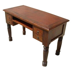 Solid Wood Console Table Writing Desk