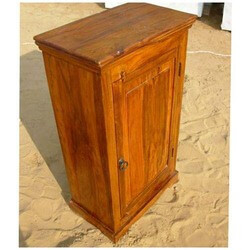 Wooden Kitchen storage Chest Cabinet Side End Tea Table
