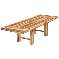 Bluffton Classic Solid Wood Extendable Dining Table