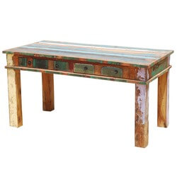Reclaimed Wood Rustic Dining Room Table Furniture