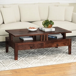 Santa Fe Elevated Platform Accent & Display Table
