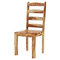 Bluffton Classic Solid Rosewood Ladder Back Dining Chair