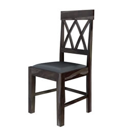Antwerp Farmhouse Solid Wood Pineapple Back Rustic Dining Chair