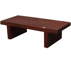 Parson's Bench Solid Wood Coffee Table