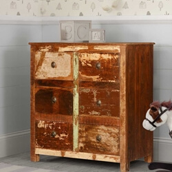 New Memories Reclaimed Wood 6-Drawer Dresser