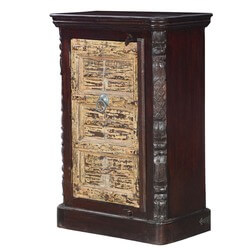 French Quarter Reclaimed Wood Rustic Storage Cabinet