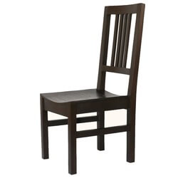 Boston Dark Charcoal Solid Wood Dining Chair (Set of 2)
