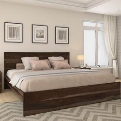 Paganus Modern Simplicity Solid Wood Platform Bed Frame