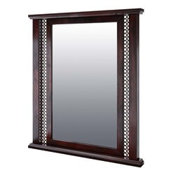 Madison Wall Mirror with Solid Wood Frame