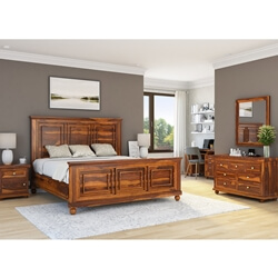 Pecos 7 Piece Bedroom Set