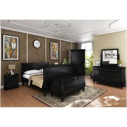 Midnight Empire 7 Piece Bedroom Set