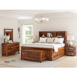 Mission Modern 6 Piece Bedroom Set