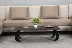 "Oriental Opium Style Mango Wood & Iron 46"" Coffee Table"