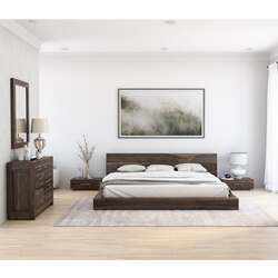 Sierra Nevada 4 Piece Bedroom Set