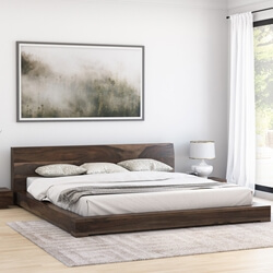 Sierra Nevada Handcrafted Solid Wood Platform Bed