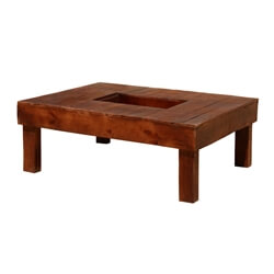 Modern Pioneer Hollow Center Patio Coffee Table