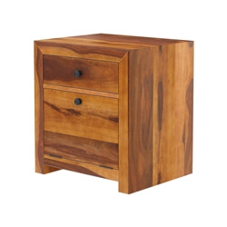 "Texas 24"" Solid Wood Nightstand with Drawer"