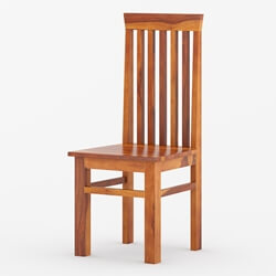Clermont Solid Wood Classic Tall Back Dining Chair