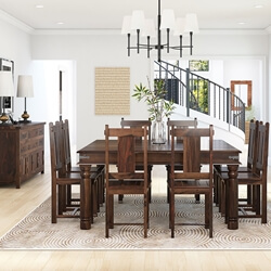 Richmond Rustic Solid Wood Dining Room Set
