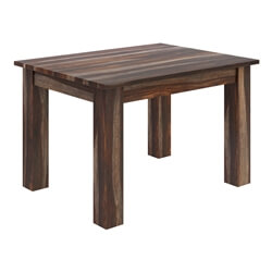 Alabama Modern Rustic Solid Wood Rectangular Dining Table